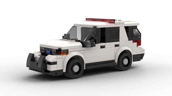 LEGO Ford Explorer Police Interceptor model