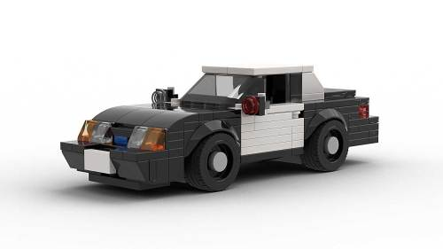 LEGO Ford Mustang SSP Police model