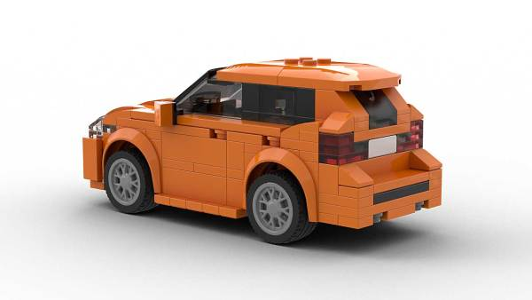 LEGO BMW 2 Series Active Tourer model rear view