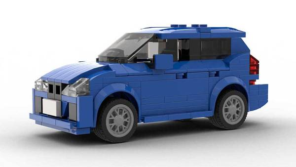 LEGO BMW 2 Series Gran Tourer model