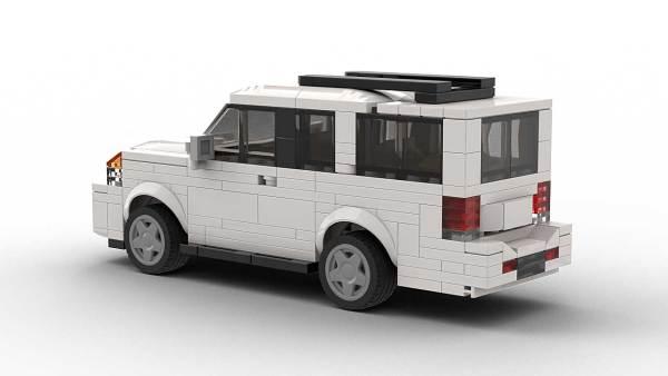 LEGO Nissan Armada model rear view