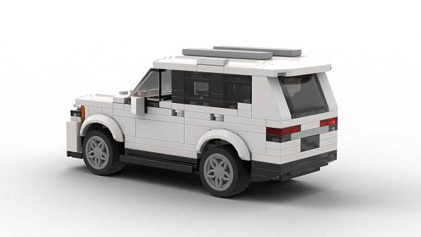 LEGO Volkswagen Atlas 2021 model rear view