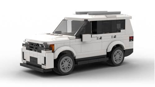 LEGO Volkswagen Atlas 2021 model