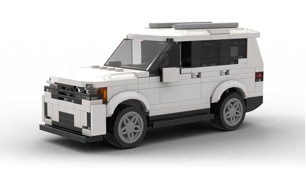 LEGO Volkswagen Atlas 2021 model