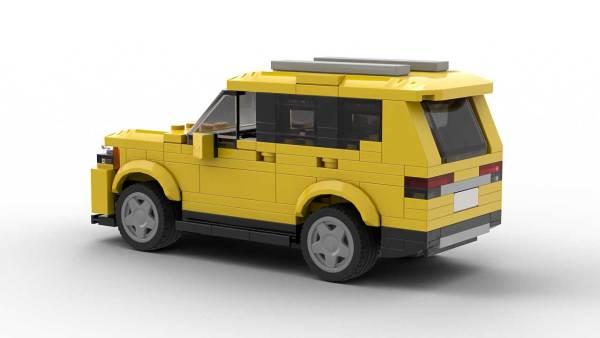 LEGO Volkswagen Atlas model rear view