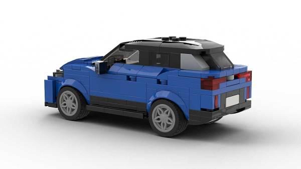 LEGO Volkswagen ID4 model rear view