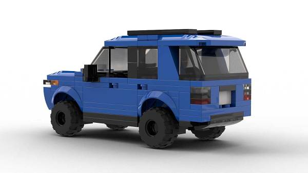 LEGO Toyota 4Runner TRD Pro model rear view