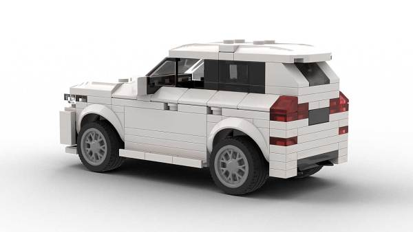 LEGO BMW X3 model Rear View