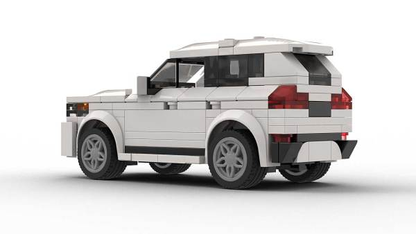 LEGO BMW X1 model rear view