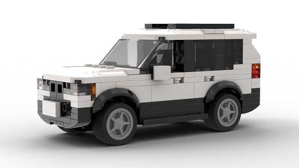 LEGO BMW X3 05 model