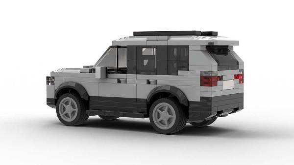 LEGO BMW X3 07 model Rear view