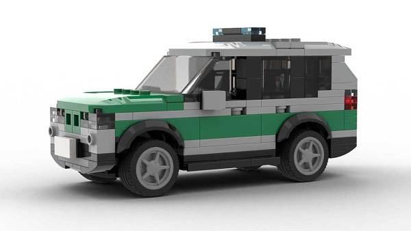 LEGO BMW X3 Police model