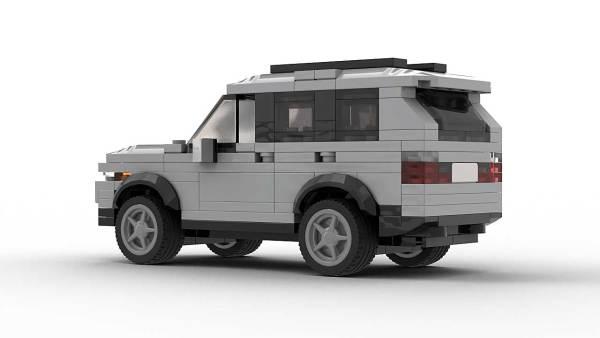 LEGO BMW X5 E53 Model Rear