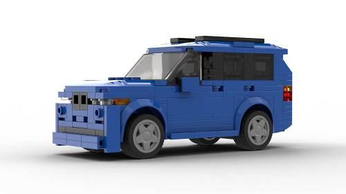 LEGO BMW X5 E53 Tuned Model