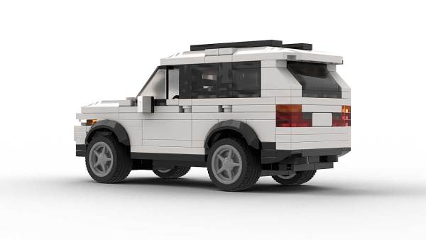 LEGO BMW X5 E53 US Model Rear View