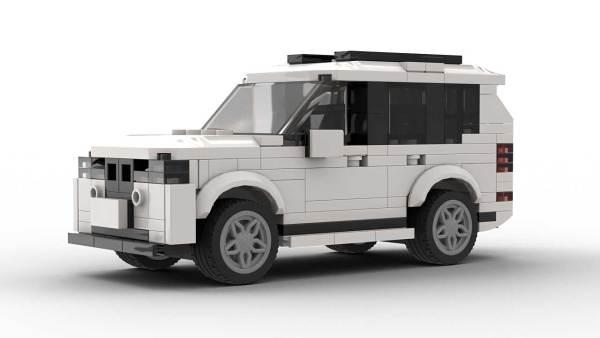 LEGO BMW X5 E70 FL model