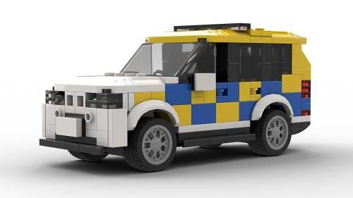 LEGO BMW X5 E70 Police model