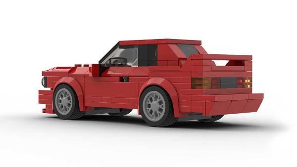 LEGO BMW E30 M3 Rear model