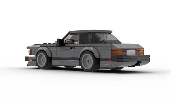LEGO BMW E24 US Model Rear