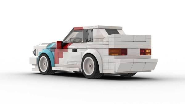 LEGO BMW E30 M3 DTM Model Rear