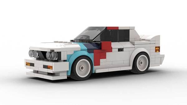 LEGO BMW E30 M3 DTM Model