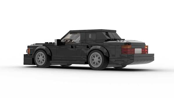 LEGO BMW E32 7 Series Model Rear Vew