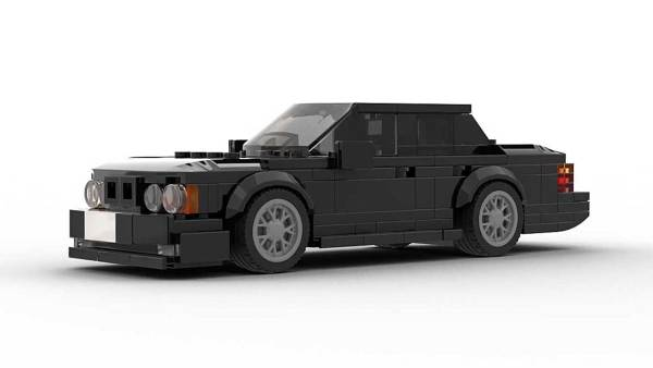 LEGO BMW E32 7 Series Model