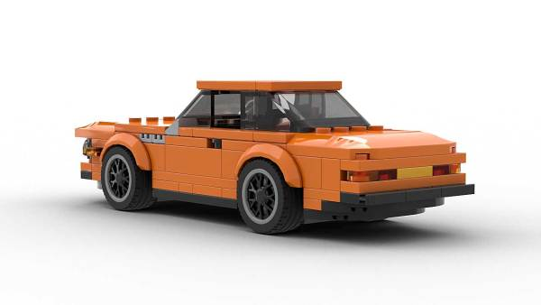 LEGO BMW E9 3 0 CSL Alpina Model Rear View