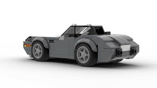 LEGO BMW Z8 Model Rear View