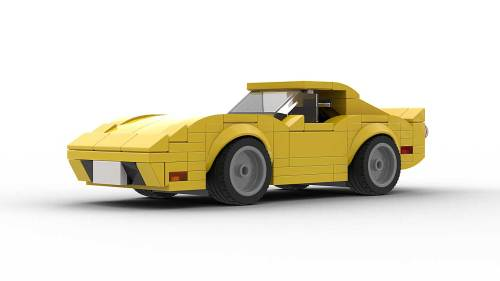 LEGO Chevrolet Corvette C3 Model