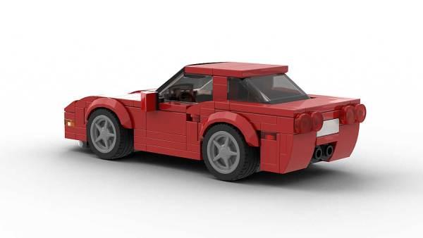 LEGO Chevrolet Corvette C5 Model Rear