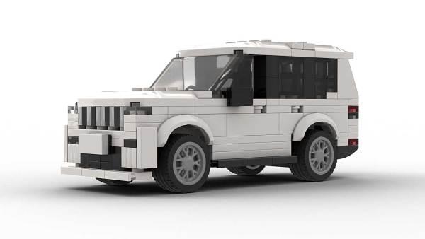 LEGO Jeep Grand Cherokee Model