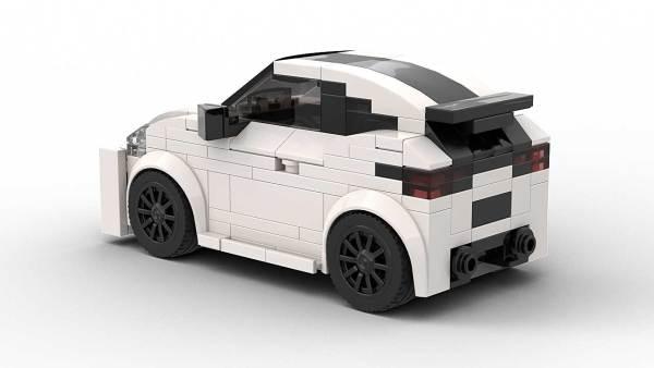 LEGO Toyota GR Yaris Model Rear View