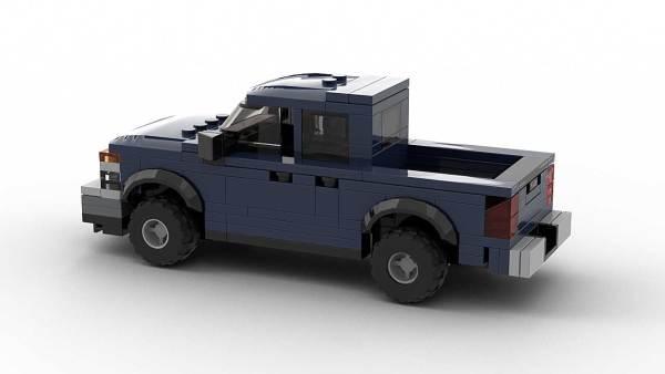 LEGO Chevrolet Colorado 2005 Crew Cab Model Rear