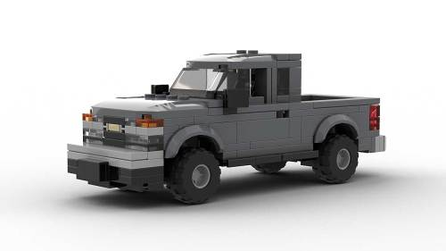 LEGO Chevrolet Colorado 2005 Extended Cab Model