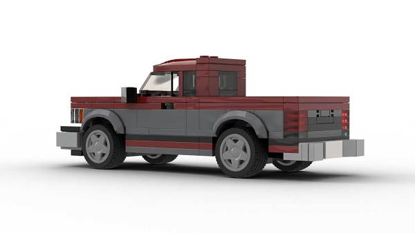 LEGO Chevrolet S10 89 Maxi-Cab Model Rear