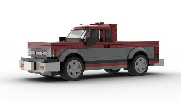 LEGO Chevrolet S10 89 Maxi-Cab Model