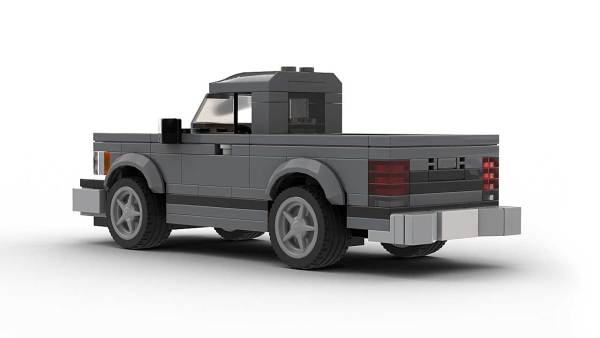 LEGO Chevrolet S10 89 Single Cab Model Rear