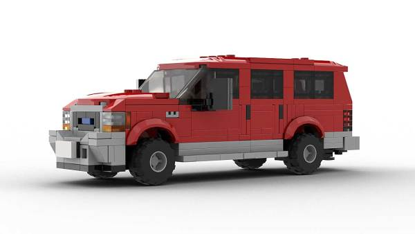 LEGO Ford Excursion Model