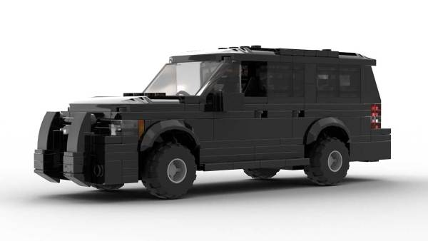 LEGO Chevrolet Suburban 12 Unmarked Model