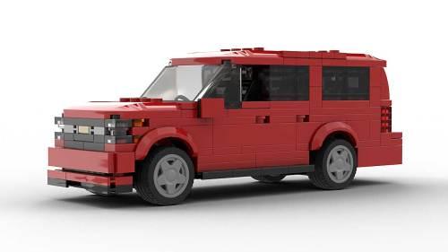 LEGO Chevrolet Suburban 18 Model