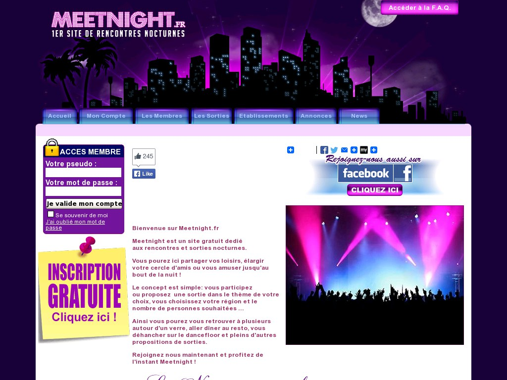 MeetNight - Avis