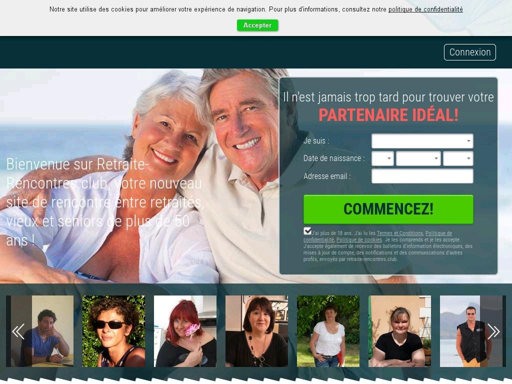 site rencontre retraité gratuit)