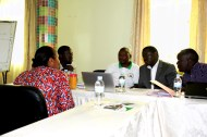 The head of the TDM participating in group discussions with RENCP members