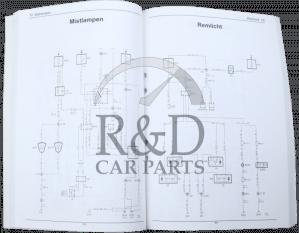 Workshop Manual Saab 95 3:2 Electrical system wiring diagrams