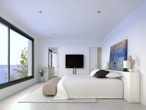 Infografia interior y decoracion arquitectura 3d ibiza