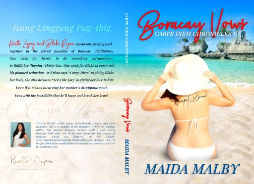 Boracay Vows (paperback) by Maida Malby | Cover Design by Render Compose