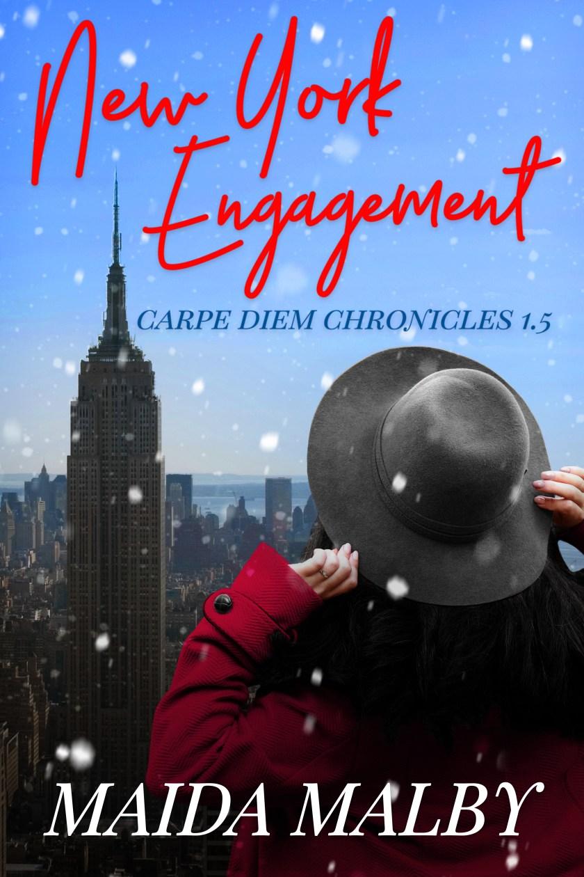 New York Engagement by Maida Malby