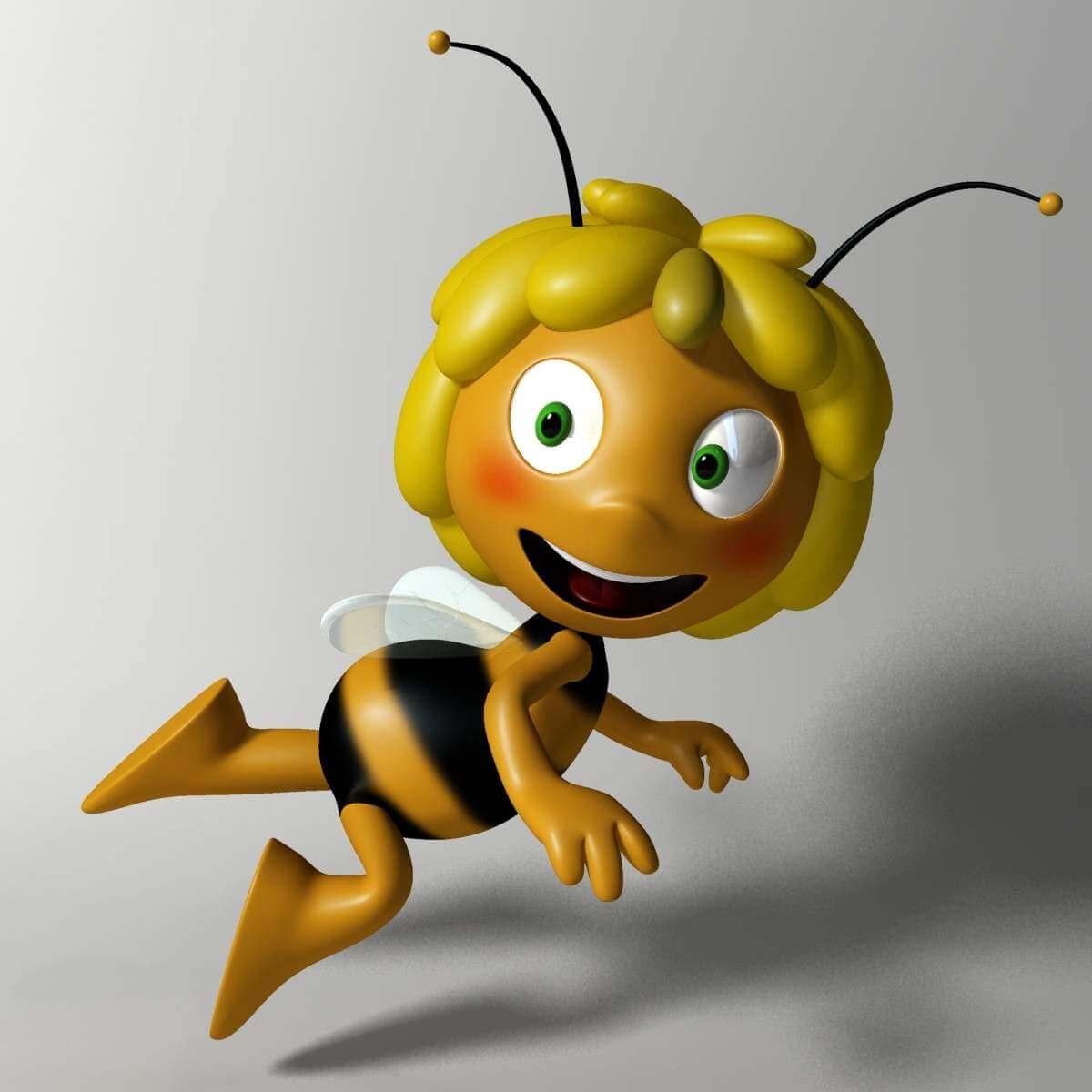 Maya The Bee 3d Model
