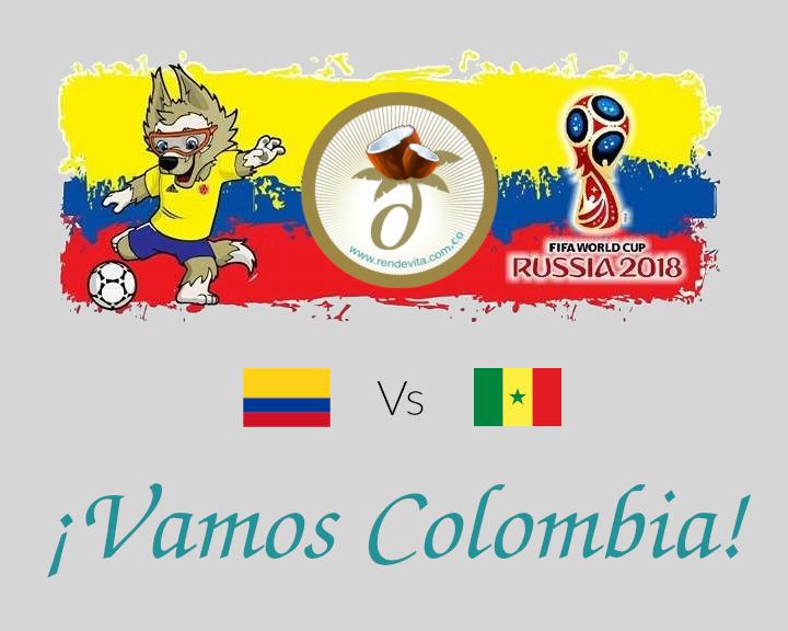 Rusia 2018: Colombia vs Senegal